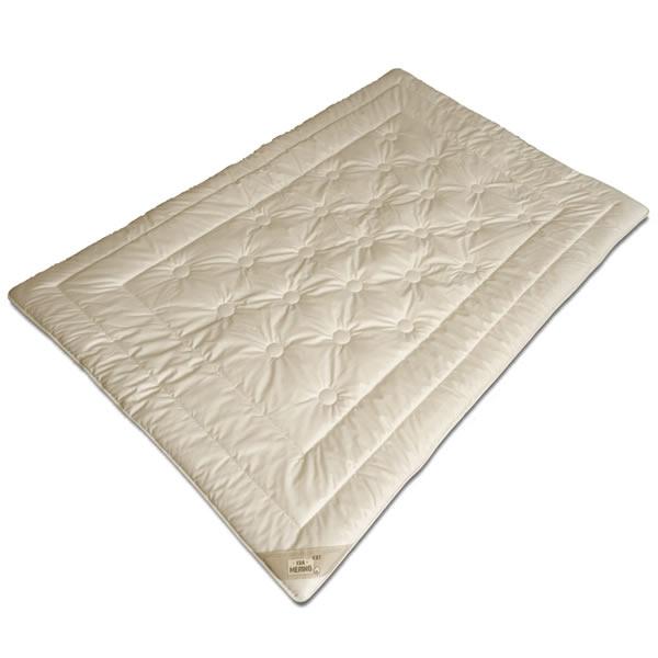 merino schurwolle leicht sommer decke aus kbt wolle bezug aus kba baumwolle bio ebay. Black Bedroom Furniture Sets. Home Design Ideas