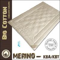 Merino Schaf-Schurwolle Sommerdecke extra leicht aus kbT mit kbA Bezug