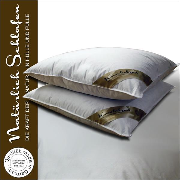 2x kopfkissen 70 federn und 30 daunen kissen in 80x80 cm 1000g federkissen ebay. Black Bedroom Furniture Sets. Home Design Ideas
