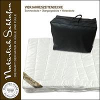 Kamelhaar 4 Jahreszeiten Bettdecke Combi Decke Vierjahreszeiten Decke