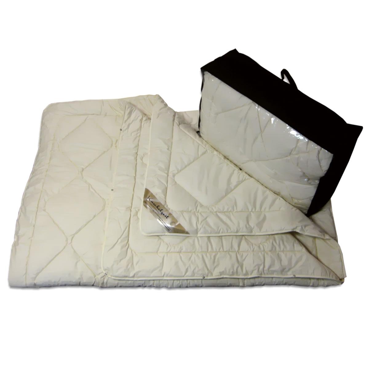 100 merino schafschurwolle 4 jahreszeiten decke combi bettdecke. Black Bedroom Furniture Sets. Home Design Ideas