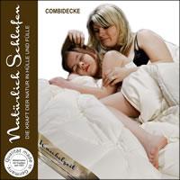 100% Merino Schafschurwolle 4 Jahreszeiten Decke Combi Bettdecke