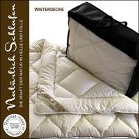 100% Merino Schafschurwolle Winterdecke Duo Decke Winterbett