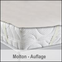 BNP Bed Care Molton Matratzenauflage Matratzenschoner Orchidee