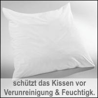 BNP Bed Care Kissenbezug Prevent mit Nässeschutz Kissenhülle Stretch