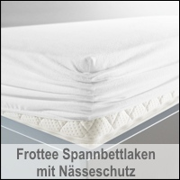 BNP Bed Care Matratzenspannbezug Prevent mit Nässeschutz Stretch