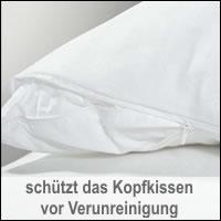 BNP Bed Care Baumwoll Kissenbezug clean-pillo Kissenhülle