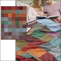 Biederlack Wohndecke colour-woven 150x200 cm bunt 100% Baumwolle