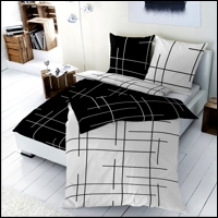 renforce bettw sche 200x200 cm 125004 090 wendebettw sche. Black Bedroom Furniture Sets. Home Design Ideas