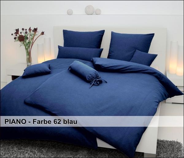 janine mako soft seersucker bettw sche restposten 135x200 bis 200x220 cm piano ebay. Black Bedroom Furniture Sets. Home Design Ideas