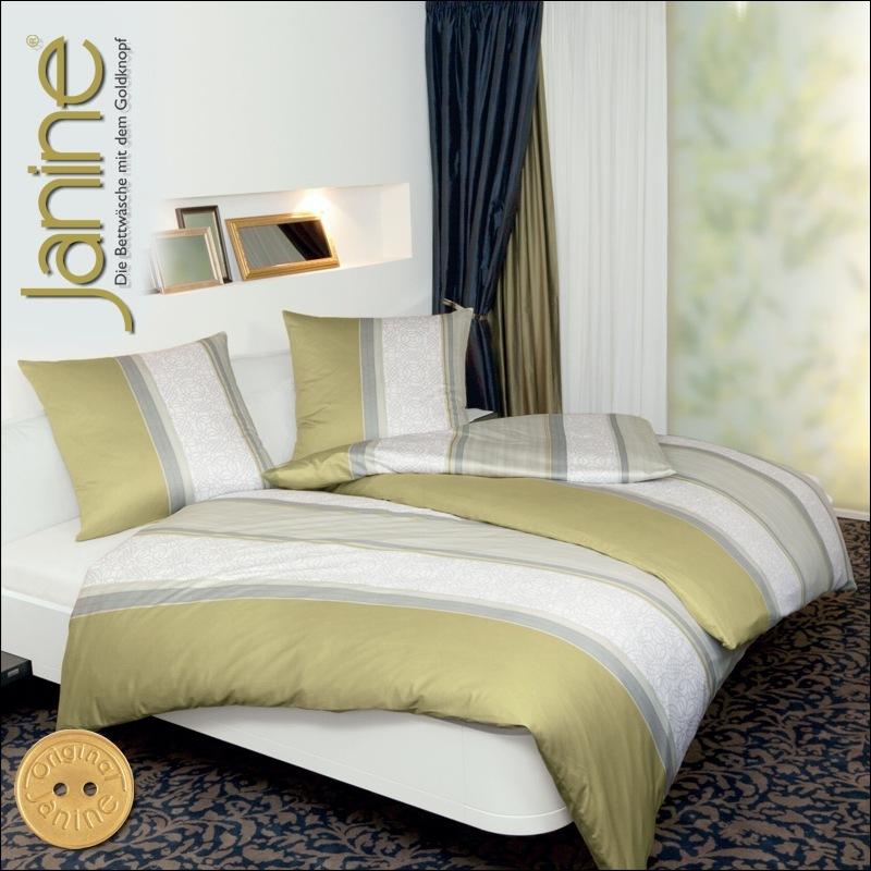 janine mako satin bettw sche 200x220 cm monza 3810 06. Black Bedroom Furniture Sets. Home Design Ideas
