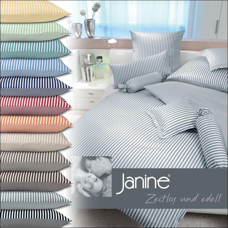 janine mako satin kissenbezug oder bettw sche modernclassic 3912. Black Bedroom Furniture Sets. Home Design Ideas