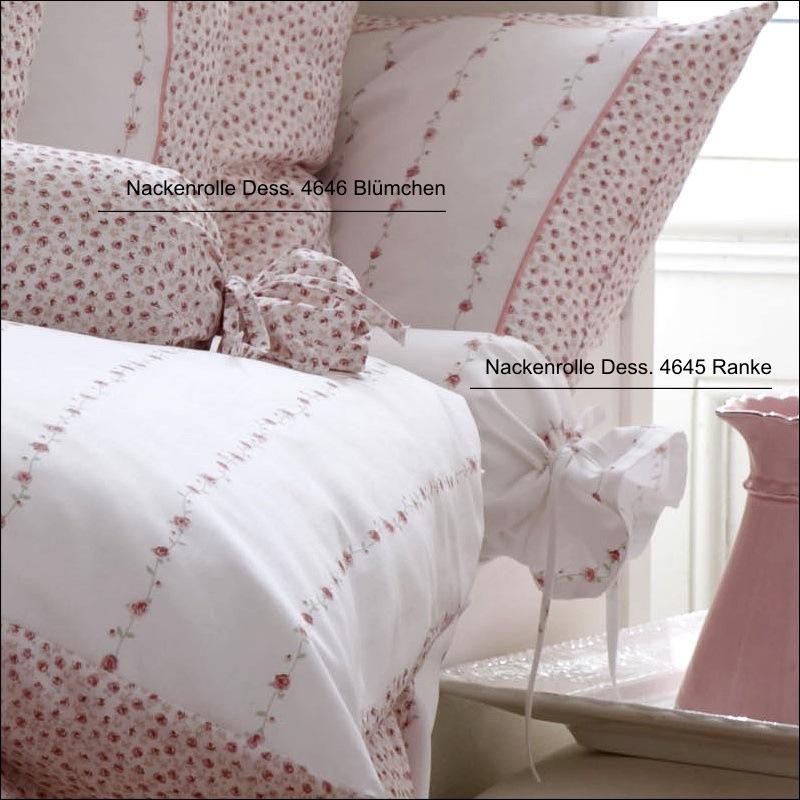 janine mako satin kissenbezug oder bettw sche romantico dessin 4647 rosa rosen ebay. Black Bedroom Furniture Sets. Home Design Ideas