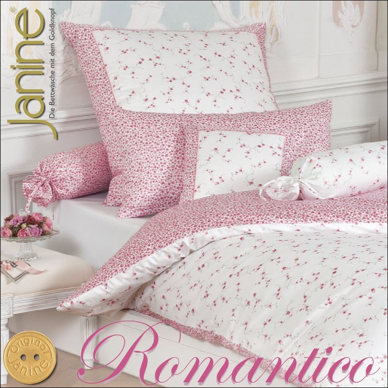 janine mako satin kissenbezug oder bettw sche romantico. Black Bedroom Furniture Sets. Home Design Ideas