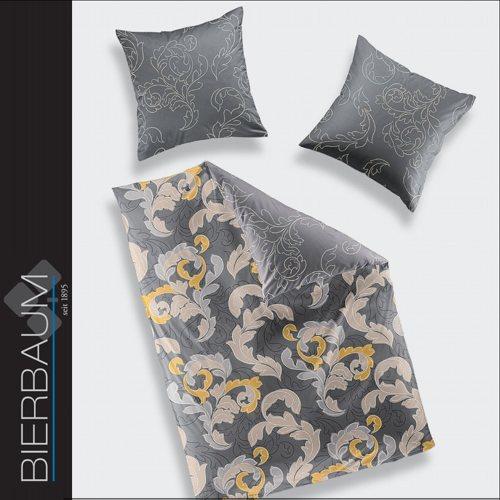 bierbaum mako satin bettw sche 135x200 cm dessin 6311 02. Black Bedroom Furniture Sets. Home Design Ideas