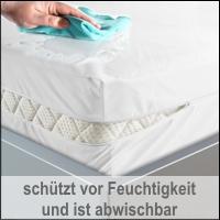BNP Bed Care Matratzenbezug Rundumbezug Safety mit Nässeschutz stretch
