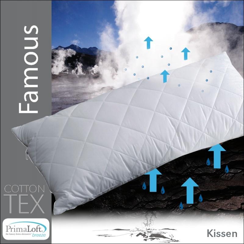 centa star famous almohada 40x80 cm almohada 2 elecci n almohada fibra ebay. Black Bedroom Furniture Sets. Home Design Ideas