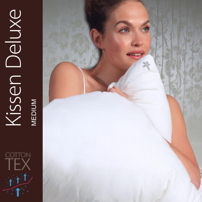 centa star kissen deluxe medium 80x80 cm mit 70 federn u 30 daunen. Black Bedroom Furniture Sets. Home Design Ideas
