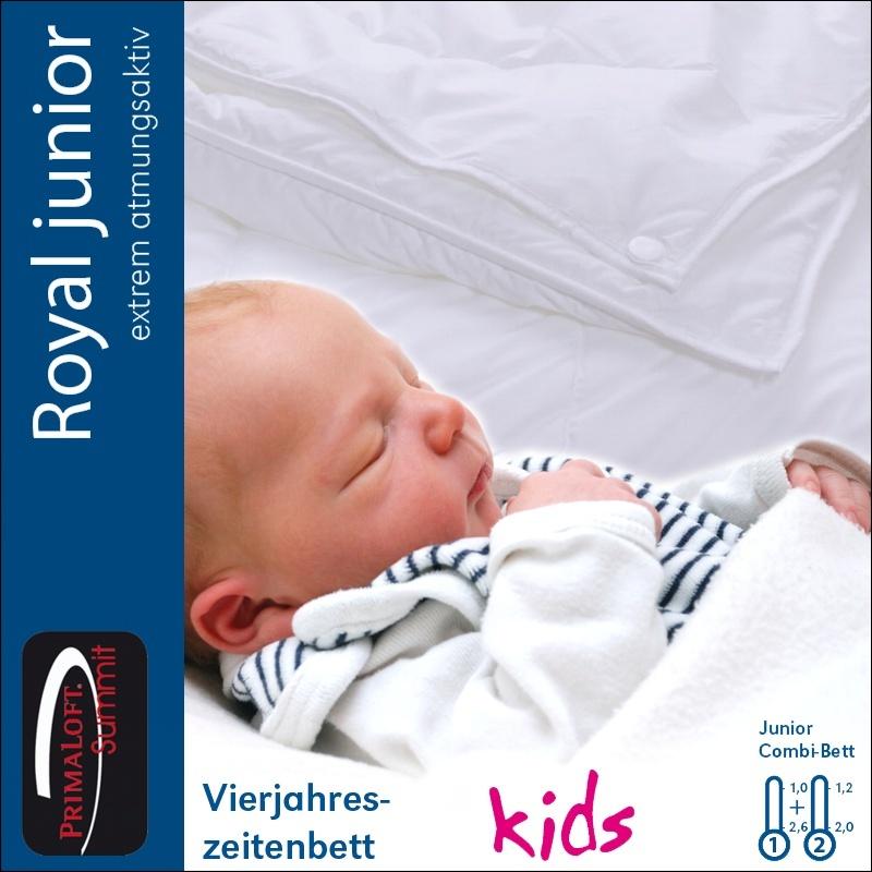 centa star royal junior combi decke 100x135 cm 4 jahreszeiten bettdecke 2 wahl ebay. Black Bedroom Furniture Sets. Home Design Ideas