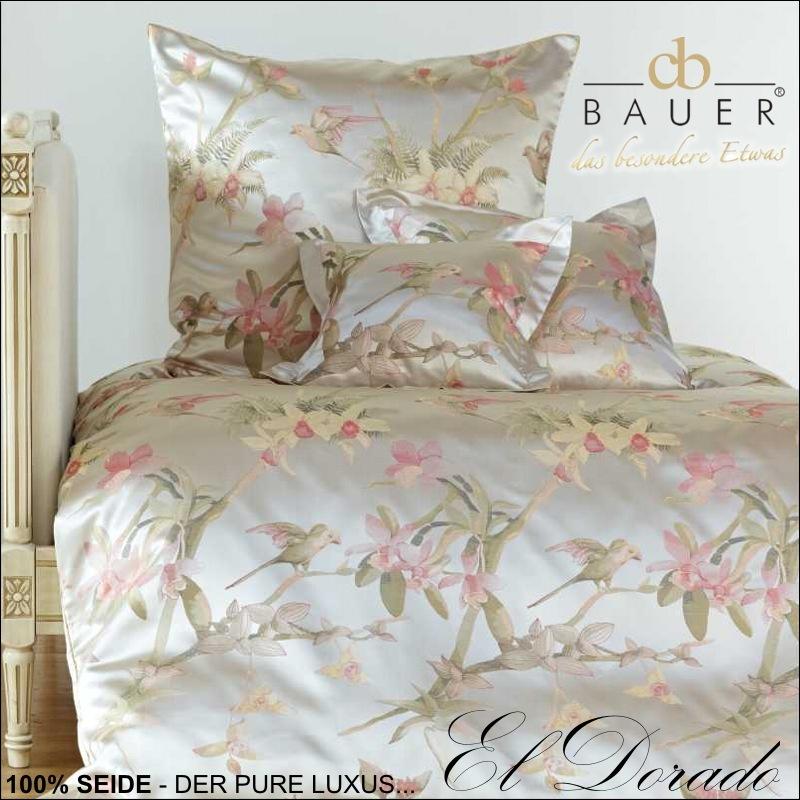 curt bauer wendebettw sche 100 seide bettw sche kissenbezug el dorado 2596 1699 ebay. Black Bedroom Furniture Sets. Home Design Ideas