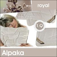 Alpaka Vierjahreszeitendecke 100% Alpakahaar Combi Bettdecke