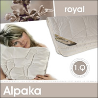 Alpaka Winterdecke 100% Alpakahaar Duo Decke Winterbett