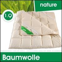 Unterbett aus 100% Baumwolle extra bauschig und natürlich waschbar