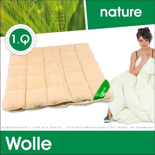 lammflor unterbett schurwolle merino schafschurwolle baumwolle matratzenauflage ebay. Black Bedroom Furniture Sets. Home Design Ideas