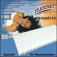 Aquaflex Nackenstützkissen Visco XS extrem atmungsaktiv für Wasserbett