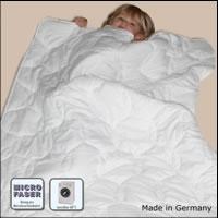 Microfaser Ganzjahresdecke 100x135 cm Solo Decke Bettdecke Kinderdecke