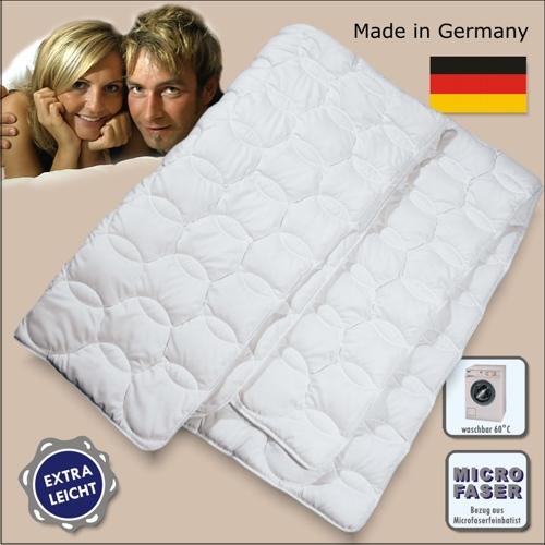extra leichte sommerdecke sommerbett microfaser bettdecke decke steppbett ebay. Black Bedroom Furniture Sets. Home Design Ideas