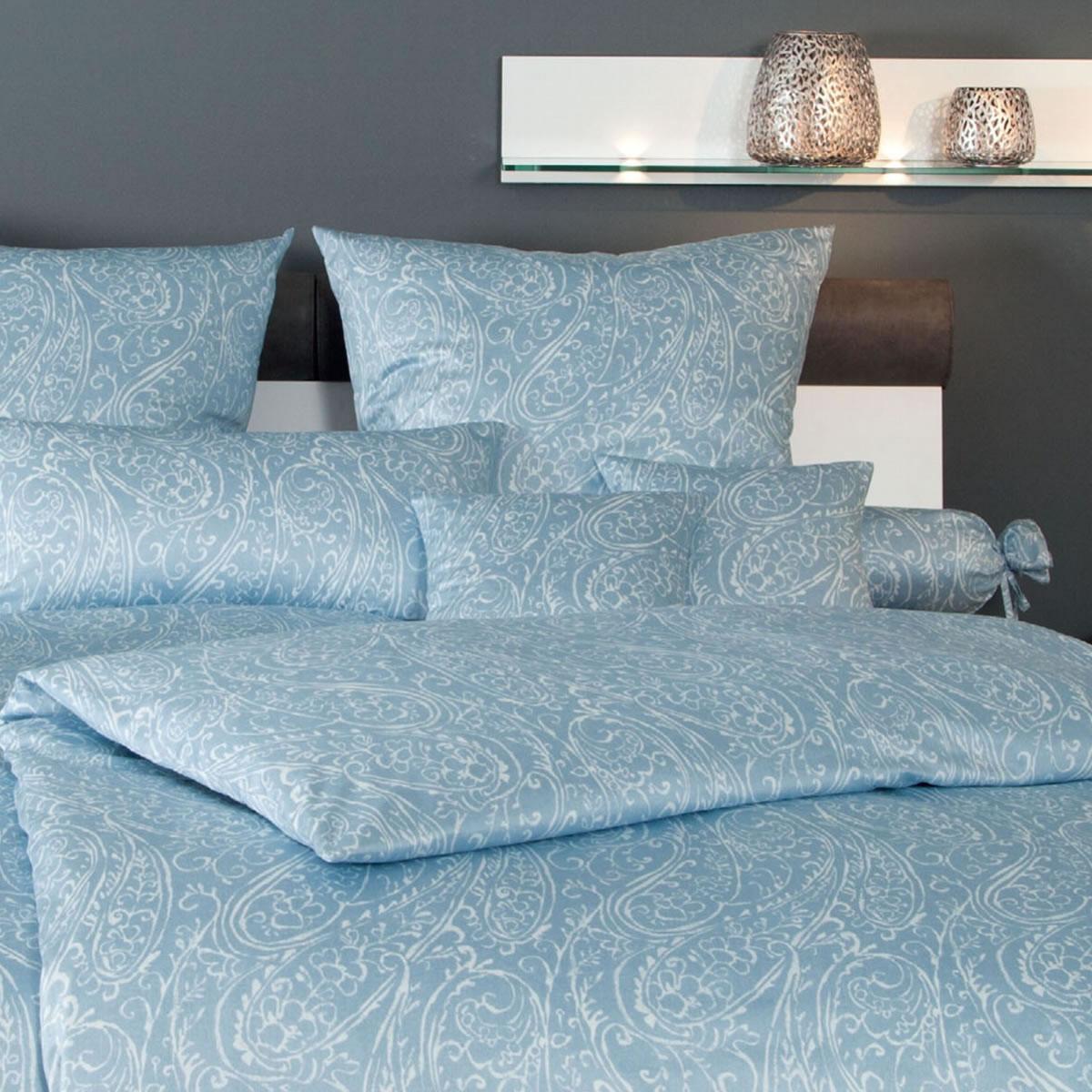 janine mako interlock jersey bettw sche carmen design 5507 02 paisley blau wei ebay. Black Bedroom Furniture Sets. Home Design Ideas