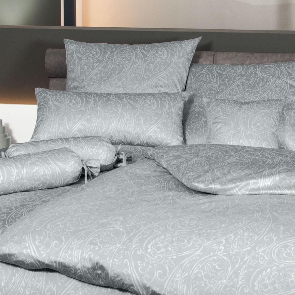 bettw sche jersey grau m belideen. Black Bedroom Furniture Sets. Home Design Ideas