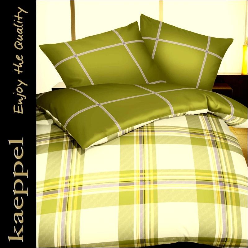 Kaeppel Mako Satin Bettwäsche 200x200 Cm Wendebettwäsche 11913