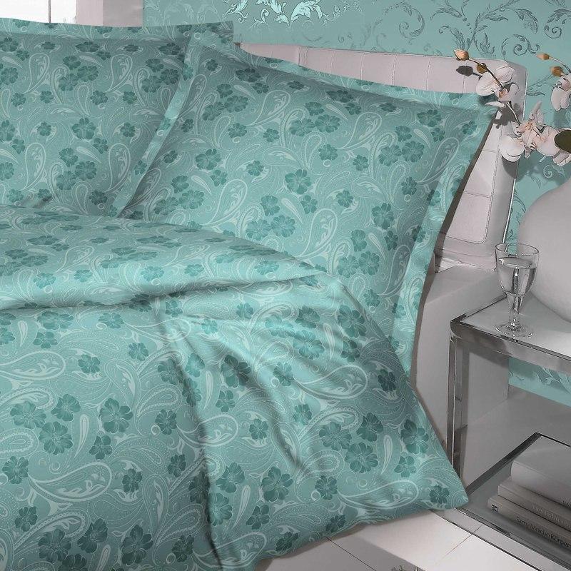 kaeppel mako satin charme bettw sche 135x200 cm dessin 16588 melodie smaragd ebay. Black Bedroom Furniture Sets. Home Design Ideas