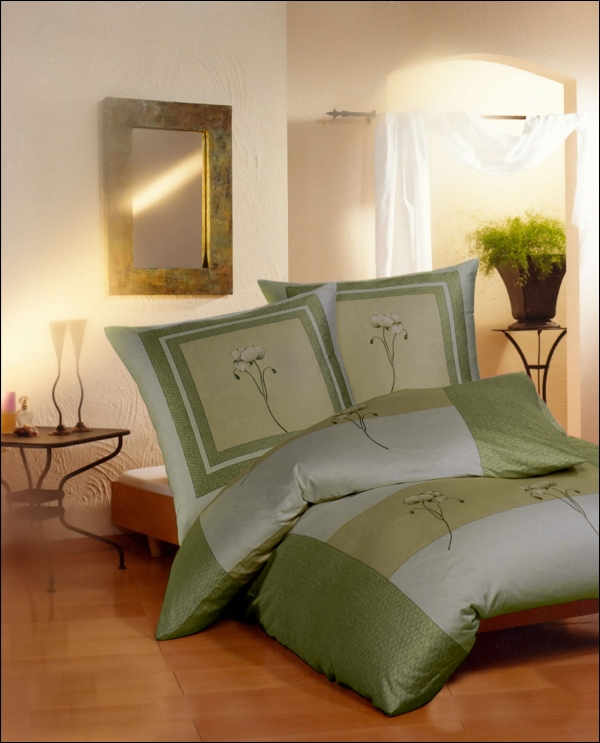 kaeppel linon bettw sche baumwolle in 135x200 cm in vers dessins ebay. Black Bedroom Furniture Sets. Home Design Ideas