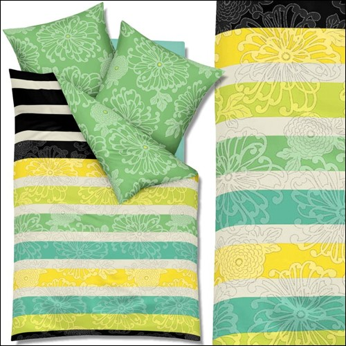kaeppel must have mako satin bettw sche 200x200 cm 2953 flower power. Black Bedroom Furniture Sets. Home Design Ideas