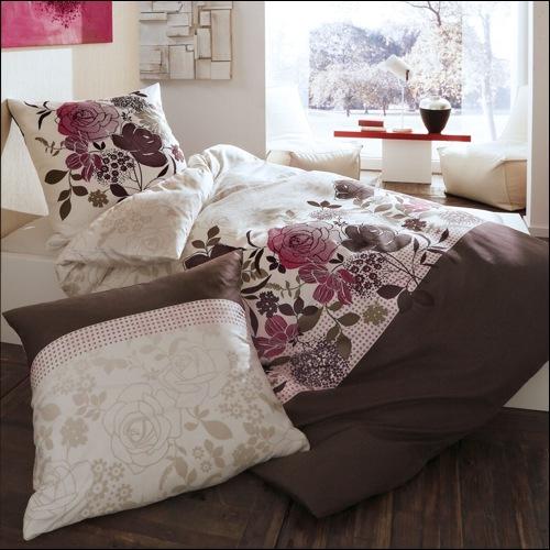 kaeppel mako satin bettw sche 135x200 cm design bliss 4026 rosen. Black Bedroom Furniture Sets. Home Design Ideas