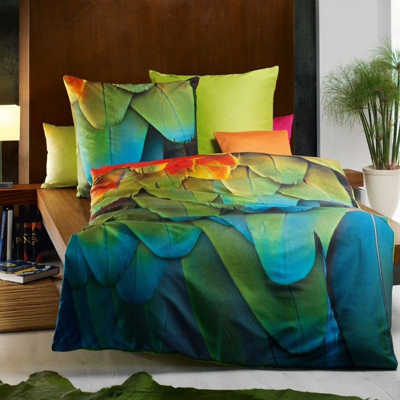 satin bettw sche 155x220 small cloud mako satin bed linen. Black Bedroom Furniture Sets. Home Design Ideas