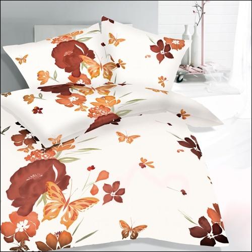 kaeppel microfaser flanell bettw sche 135x200 louisa 5282 blumen schmetterling ebay. Black Bedroom Furniture Sets. Home Design Ideas
