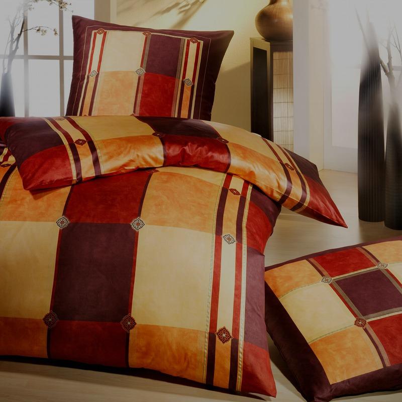 kaeppel biber bettw sche 200x200 cm design femme 6612. Black Bedroom Furniture Sets. Home Design Ideas