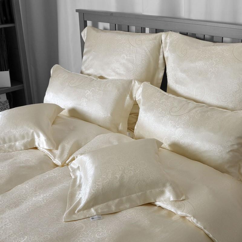 seidenweber collection seiden bettw sche galaxia aus 100 seide paisley ebay. Black Bedroom Furniture Sets. Home Design Ideas