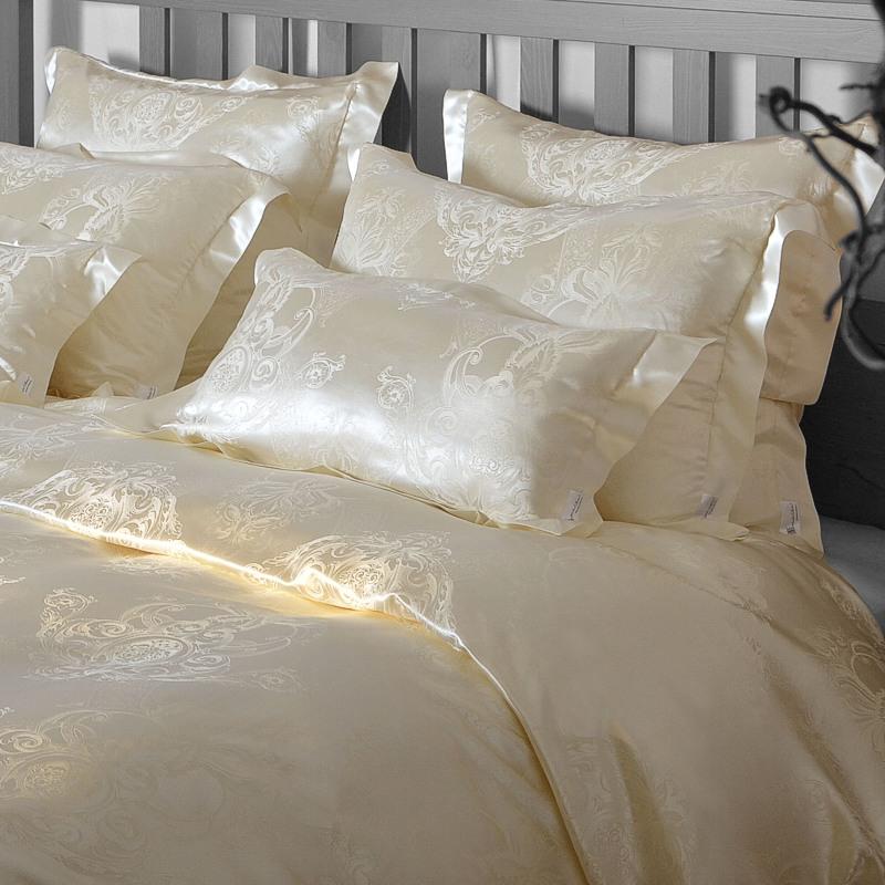 seidenweber collection bettw sche akanthus 100 naturbelassene seide. Black Bedroom Furniture Sets. Home Design Ideas
